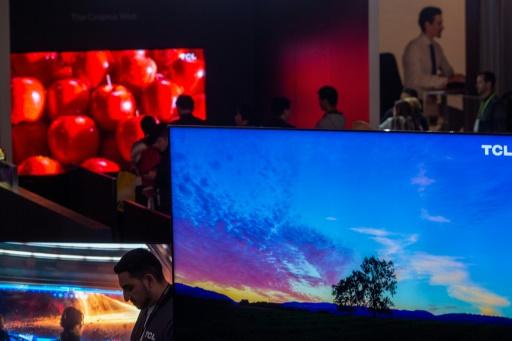 Télévision: la technologie 8K fait son show à Cannes