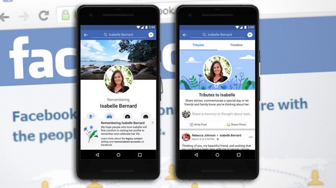 Facebook va (essayer de) détecter automatiquement les comptes des défunts, pour ne pas froisser les proches