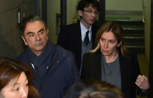 L'épouse de Carlos Ghosn de retour au Japon pour être entendue