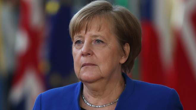 La chancelière Angela Merkel est en deuil