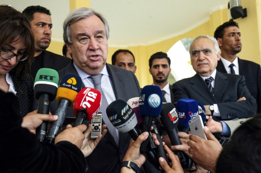 Libye: Guterres réclame