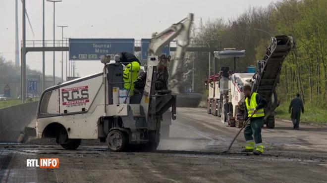 Le pont de La Louvière sur la E42/A15 sera rouvert pour vendredi matin