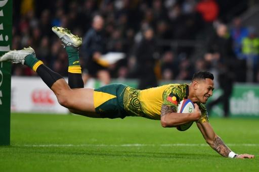 Rugby: l'Australie se sépare de Folau, auteur de nouveaux propos homophobes