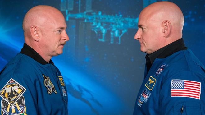Des jumeaux de la Nasa passés à la loupe pendant un an, l'un sur Terre, l'autre dans les airs: voici ce qui a été découvert
