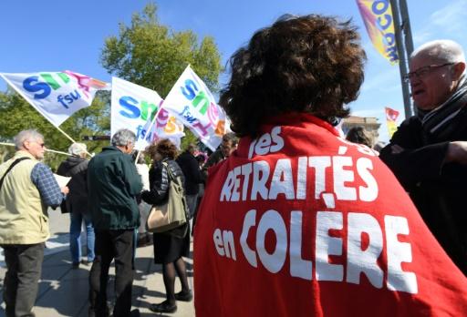 Plusieurs milliers de retraités mobilisés contre le
