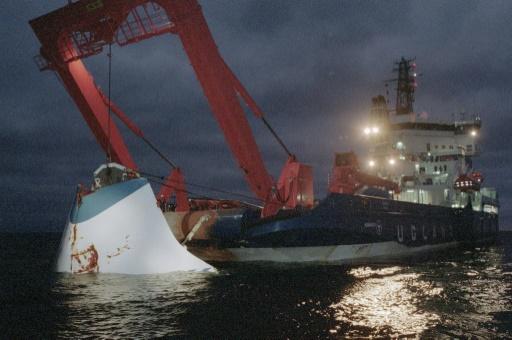 Naufrage de l'Estonia en 1994: dans une mer démontée, le drame en quelques minutes