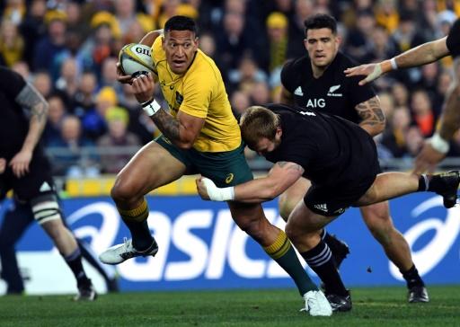Rugby: Folau se bat pour poursuivre sa carrière en Australie