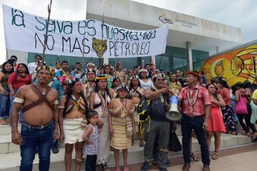 Equateur : des Indiens se mobilisent contre un projet d'exploration pétrolière