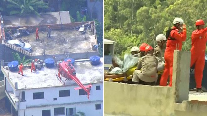 Effondrement de deux immeubles situés à Rio: au moins 2 morts