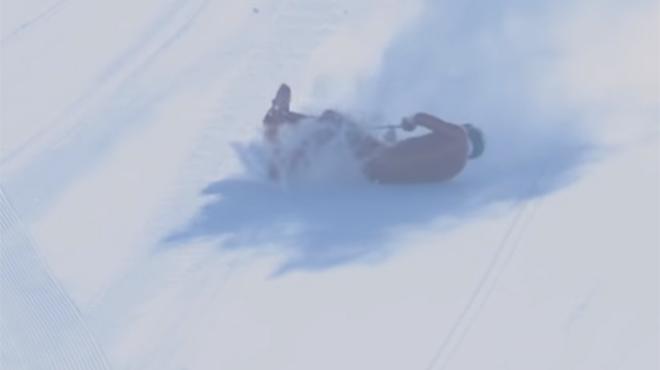 L'effroyable accident du skieur de vitesse Joost Vandendries: le Belge souffre de multiples fractures (vidéo)