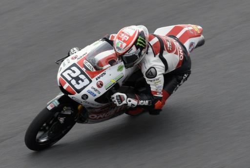 GP des Amériques: la pole position pour Antonelli en Moto3