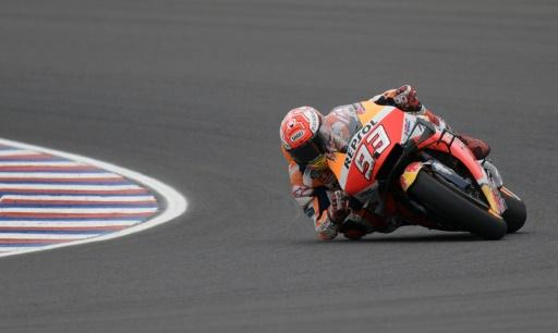 GP des Amériques: Marquez décroche sa 7e pole de suite