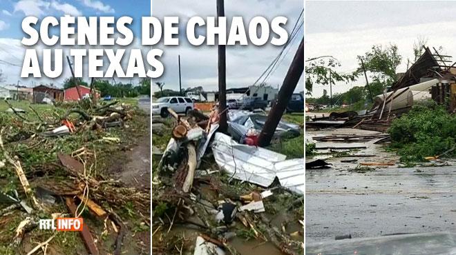 Deux enfants tués et des dégâts impressionnants: de violentes tempêtes s'abattent sur le Texas