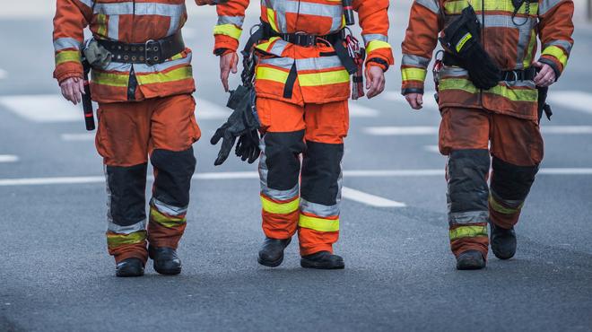 Deux pompiers sur trois en surpoids: