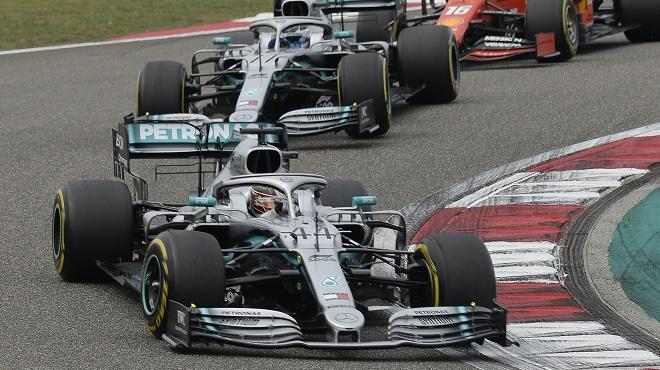 F1: Lewis Hamilton et Mercedes font coup double au GP de Chine