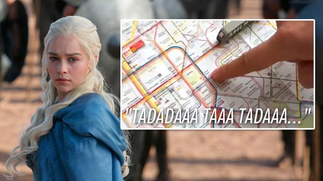 La STIB se lâche sur Twitter: vous aimez cette parodie de Game of Thrones ?