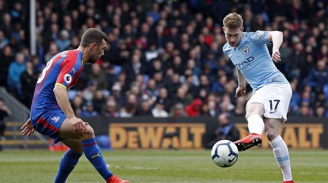 Manchester City s'impose grâce à deux jolis assists de Kevin De Bruyne (vidéo)