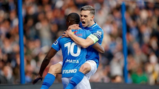 Playoffs I: Genk frappe un grand coup contre Bruges