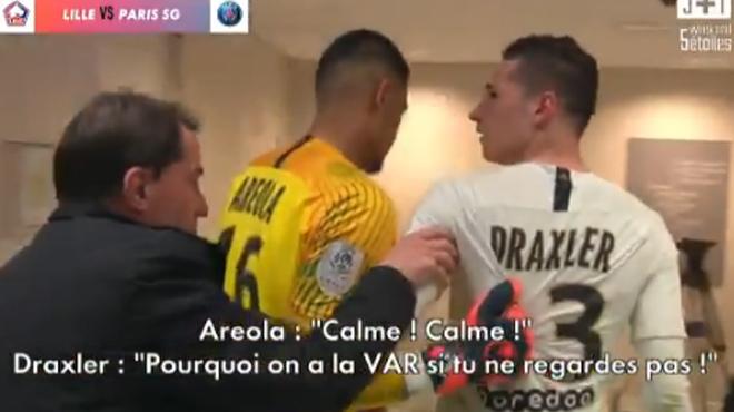 Draxler, Mbappé, Tuchel et Al-Khelaïfi: le PSG fustige l'arbitrage dans les vestiaires (vidéo)