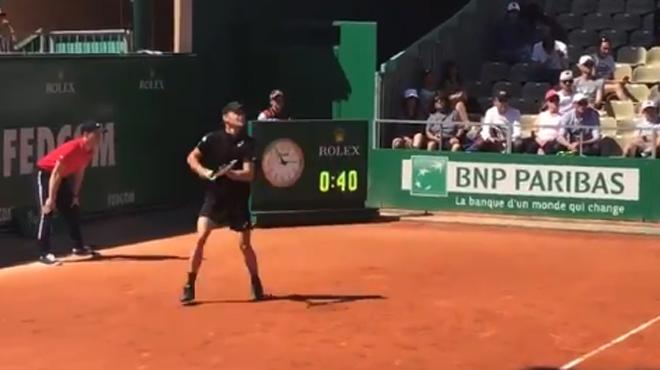 Masters de Monte Carlo: David Goffin rejoint aisément le deuxième tour