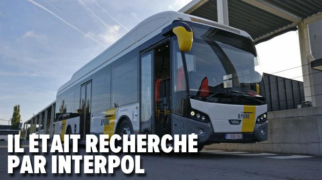 Un homme signalé internationalement interpellé lors d'un contrôle de bus à Anvers