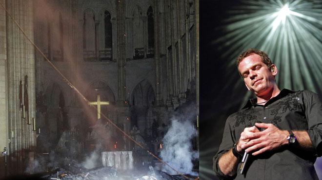 Incendie de Notre Dame de Paris : les stars en pleurs