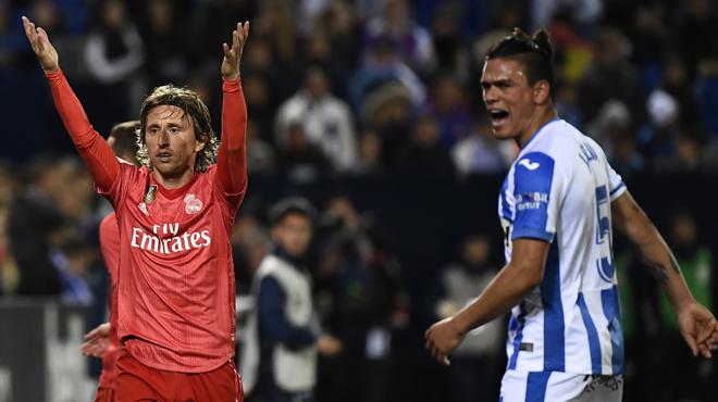 Le Real Madrid, tenu en échec contre Leganés, poursuit son chemin de croix (vidéo)