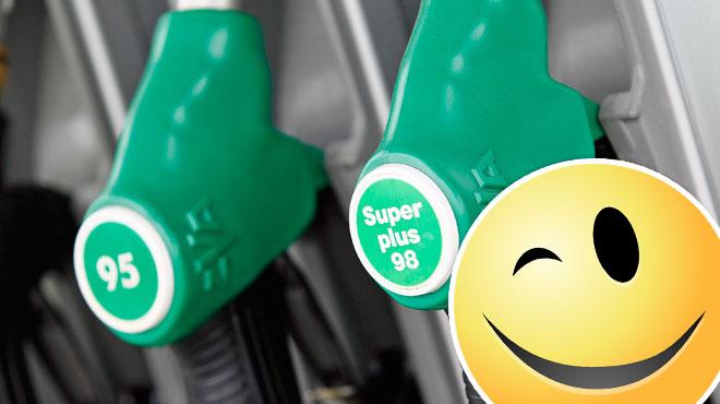 Pensez à faire le plein d'essence aujourd'hui si possible