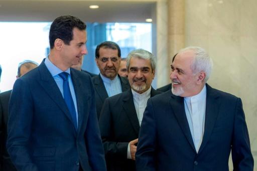 Le chef de la diplomatie iranienne à Damas avant des pourparlers sur la Syrie