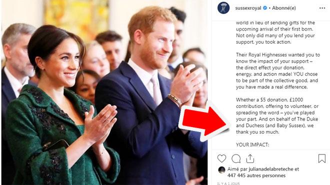 Le royal baby d'Harry et Meghan est-il déjà né? Le détail qui sème le doute