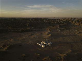 Vivre comme sur Mars? Une base ouvre dans le désert chinois