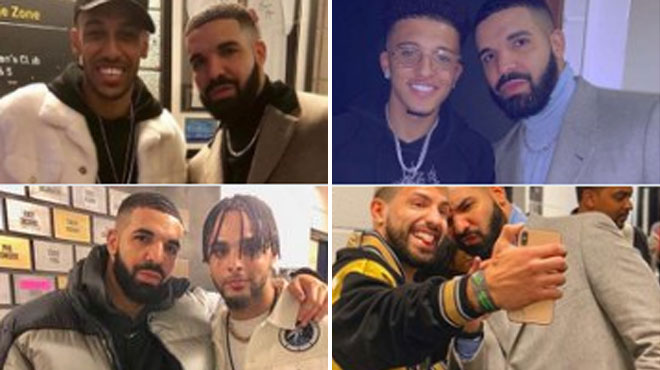 L'AS Rome interdit les selfies avec Drake