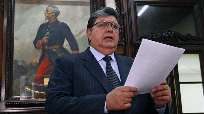 L'ex-président du Pérou est décédé: il s'était tiré une balle dans la tête au moment de son arrestation