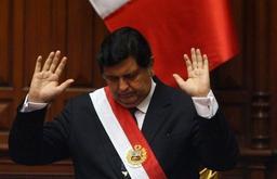 Pérou: l'ex-président Alan Garcia tente de se suicider juste avant son arrestation