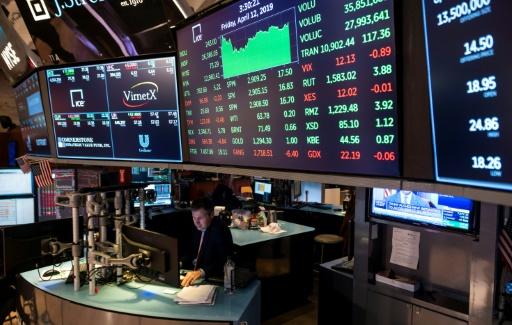 Wall Street en ordre dispersé après une nouvelle salve de résultats