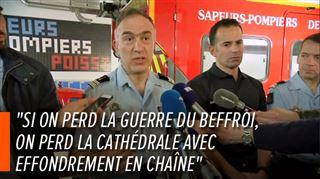 Les pompiers de Paris dévoilent les dessous de l'incendie de Notre-Dame- Il a fallu faire un choix