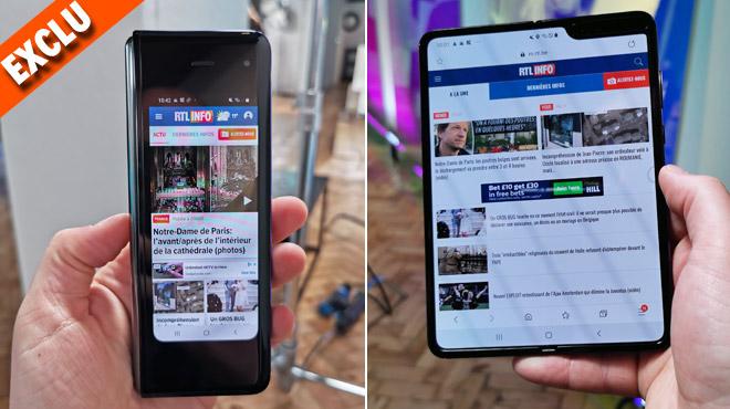 On a testé le Samsung Galaxy Fold, le premier smartphone PLIABLE: que vaut-il ? (vidéo)