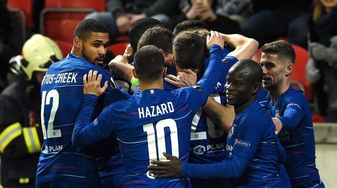 Europa League- Chelsea passe après un match fou, Naples sort par la petite porte 1