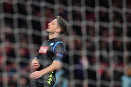 Europa League - Naples et Mertens sortis par Arsenal, Hazard et Chelsea en 1/2 après un festival de buts