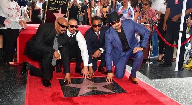 Le groupe Cypress Hill inaugure son étoile sur le