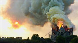 Incendie à Notre-Dame de Paris- un court-circuit à l'origine de la catastrophe?