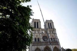 Incendie à Notre-Dame de Paris -