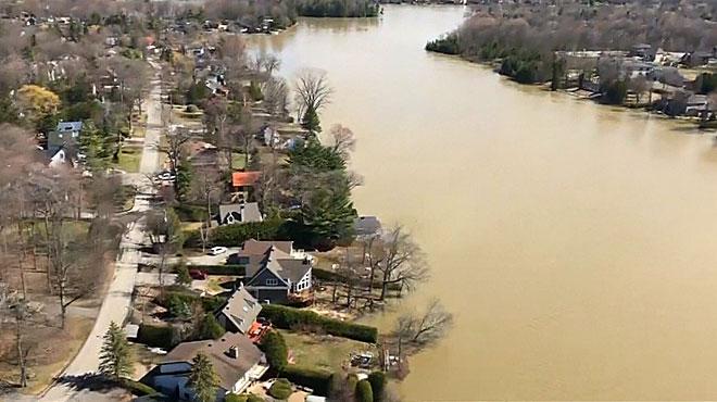 Le Québec et une partie du Canada sous les eaux: les inondations prennent de l'ampleur, l'armée appelée en renfort