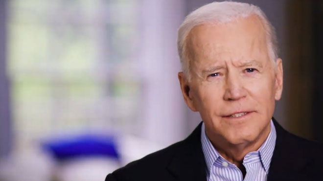 Le démocrate Joe Biden ANNONCE sa candidature aux prochaines élections présidentielles (vidéo)
