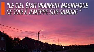 Un merveilleux coucher de soleil immortalisé à plusieurs endroits de Belgique- voici vos photos 2