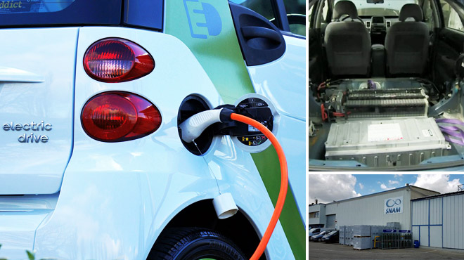 ENQUÊTE: comment sont recyclées les précieuses batteries des voitures électriques?