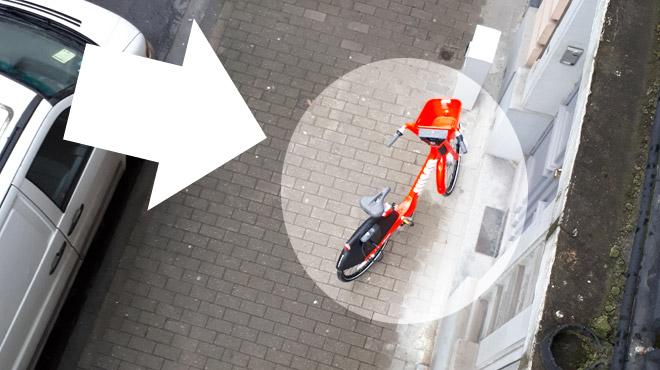 Vélo Jump d'Uber à Bruxelles:
