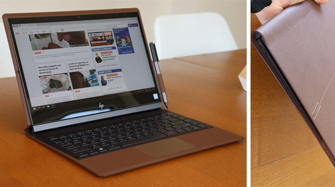 Les tests de Mathieu- et si vous optiez pour l'ordinateur portable… en cuir ?
