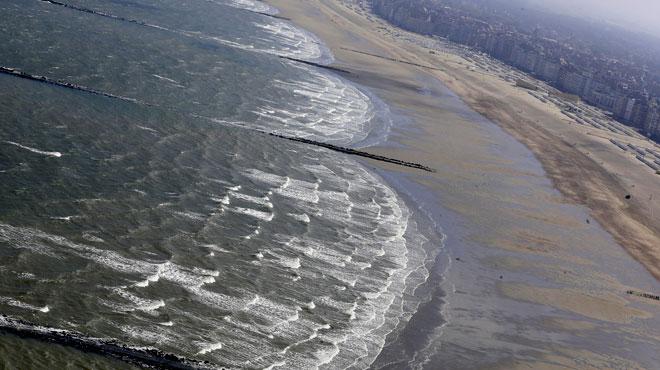Knokke: du gaz moutarde s'écoule aussi dans la mer du Nord
