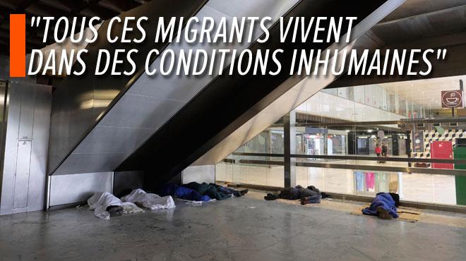 Migrants à la Gare du Nord: comment en est-on arrivé là?